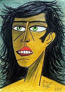 Self Portrait 1997 - Bernard Buffet