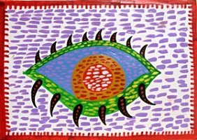 The Eye 1970' - Yayoi Kusama