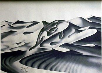 Lithograph Orca - David Dory