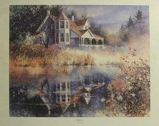 Lithograph Reflections - Rick Burger
