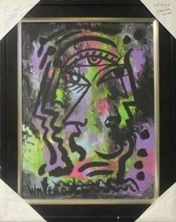 "Original Oil on Canvas ""Emotional Escape"" by William"
