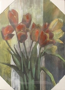"Giclee on Canvas ""Fresh Flowers"""