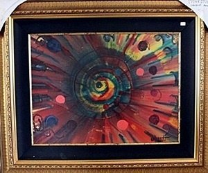 Circle of Mind - Original Oil Painting by William