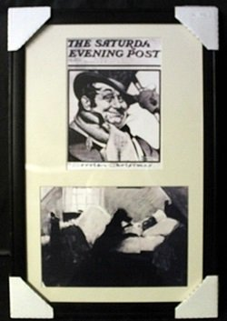 Black and White Litographs 2-in-1 by Norman Rockwell
