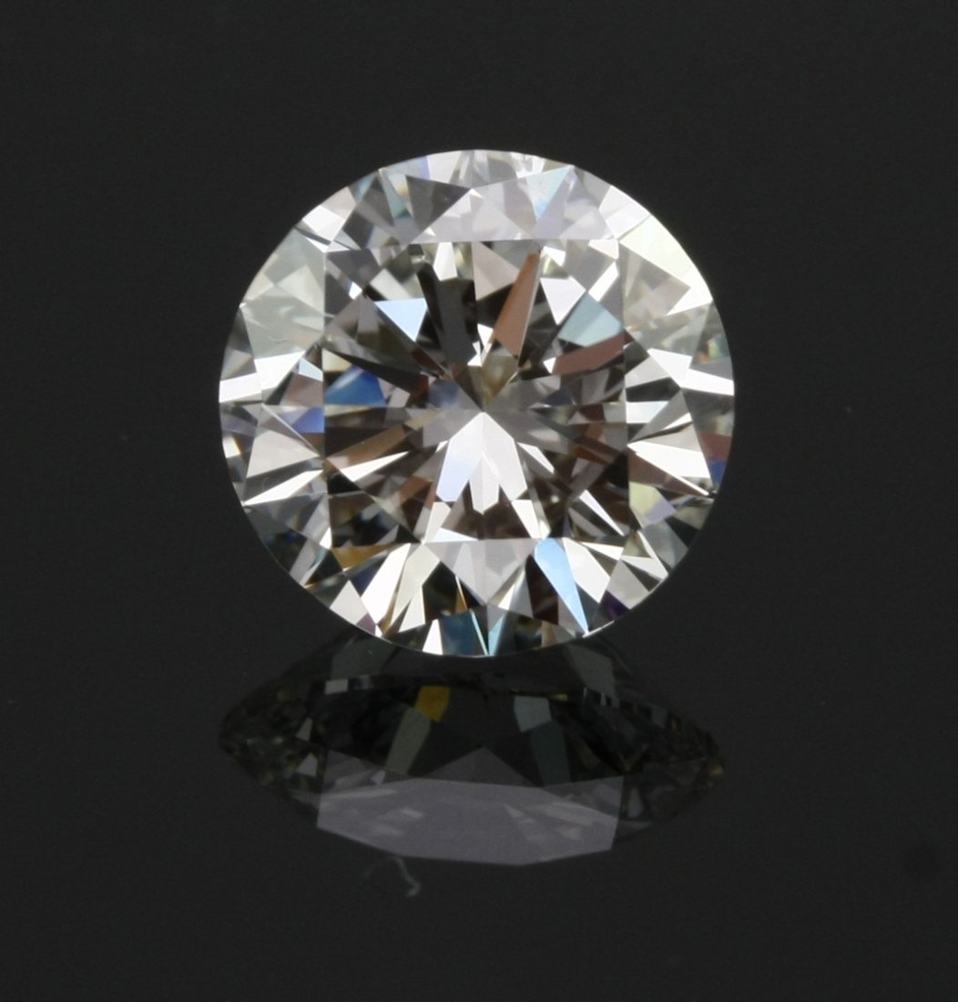 IGI Cert. Round Diamond 0.55 Ct L, VVS2
