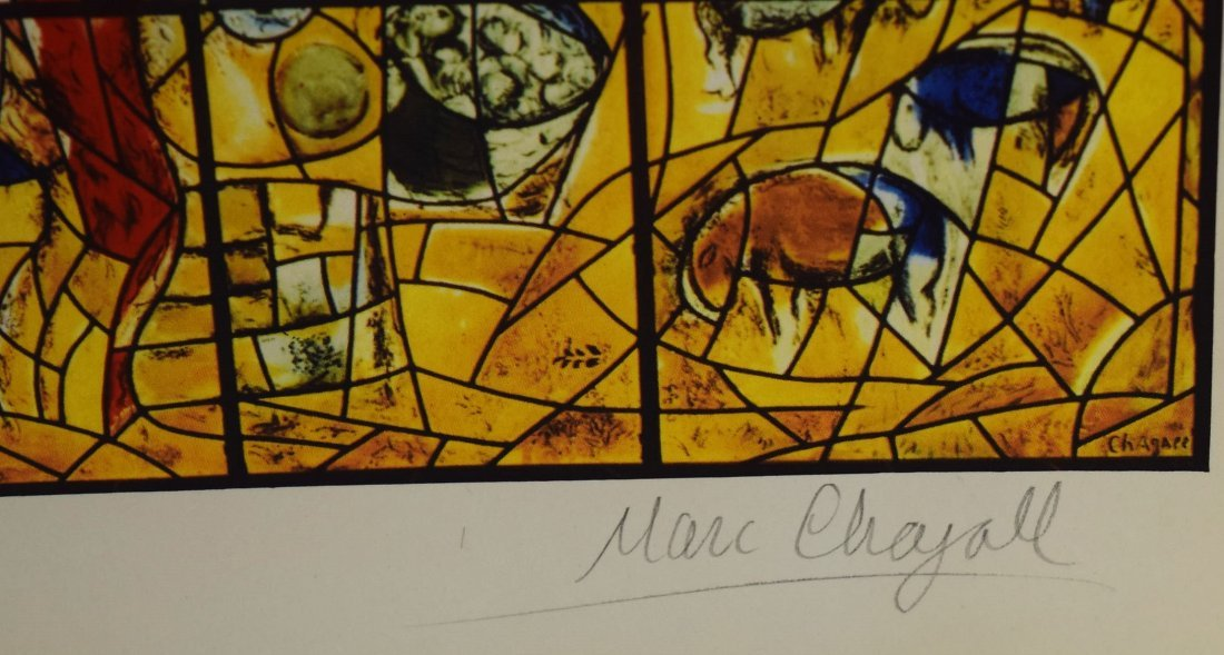Marc Chagall Signed Lithograph - 2
