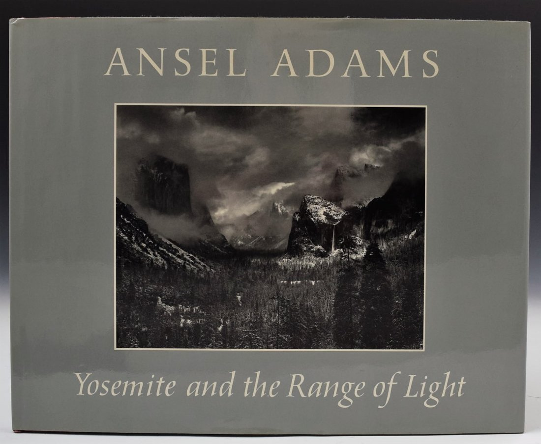 Ansel Adams Signed Book