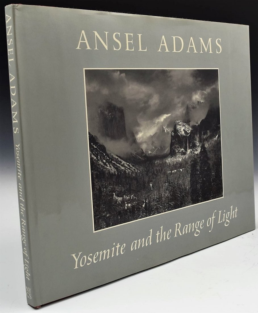 Ansel Adams Signed Book - 2