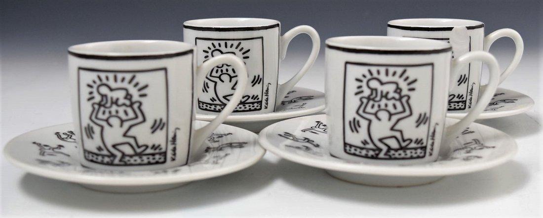 Keith Haring Espresso Cups