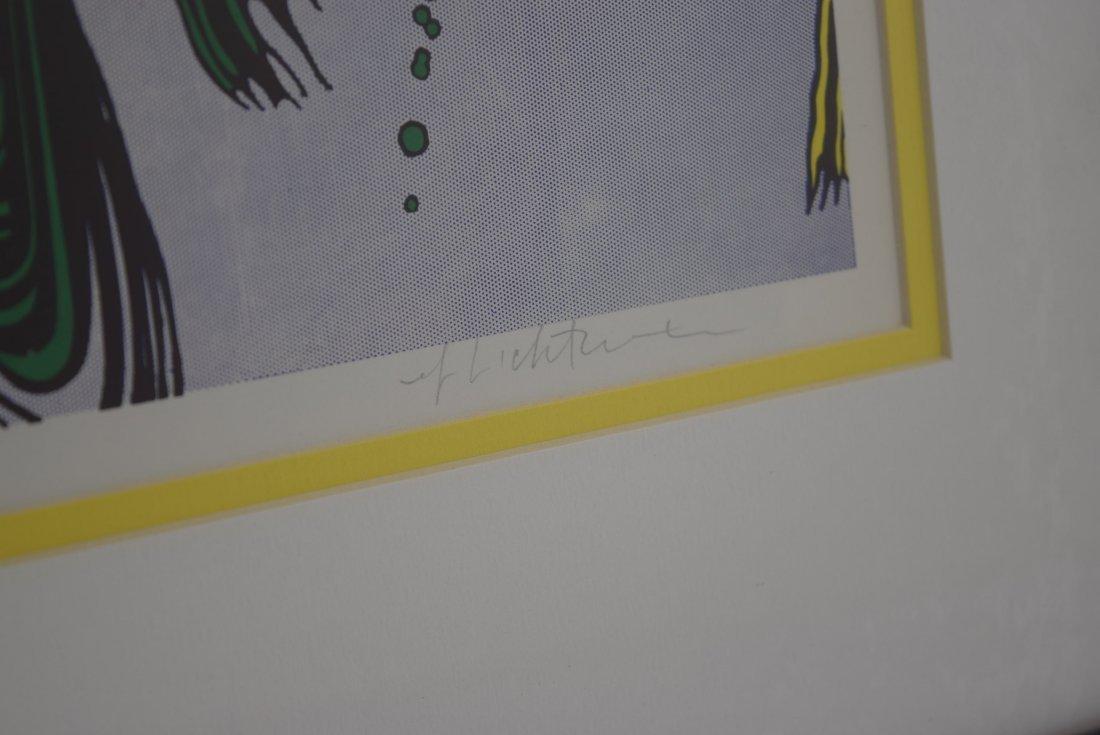 Roy Lichtenstein Signed Lithograph - 3