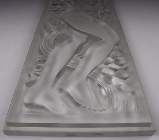 René Lalique Crystal Panel - 2