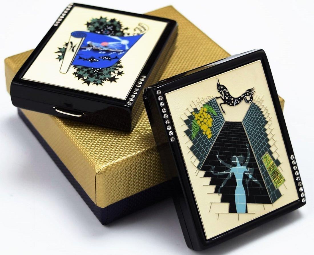 Erte Zodiac Compacts