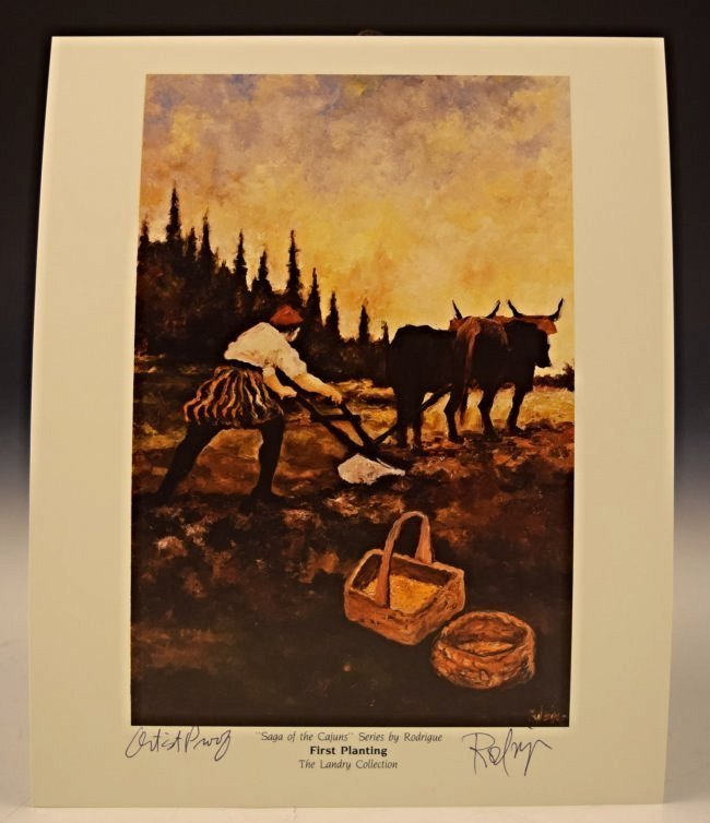 George Rodrigue Signed Artist Proof