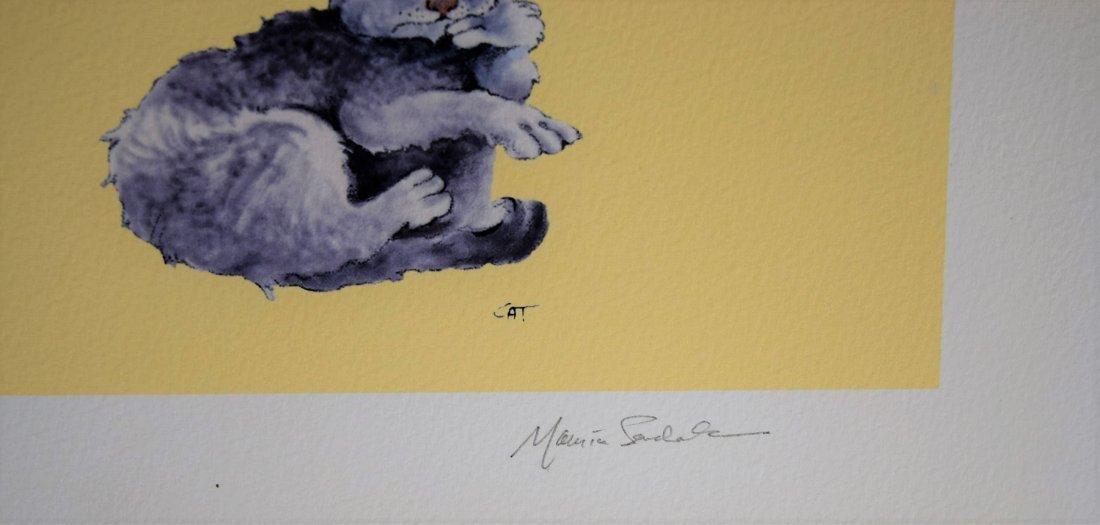 Maurice Sendak Signed Print - 2