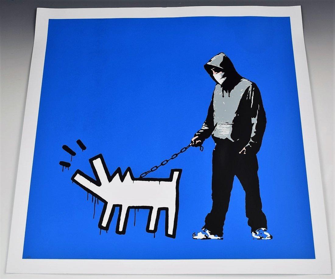 After Banksy Screenprint