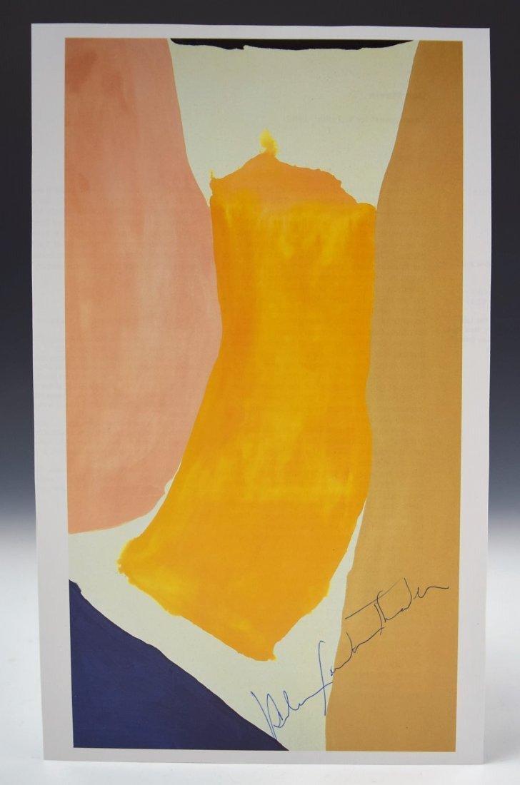 Helen Frankenthaler Signed