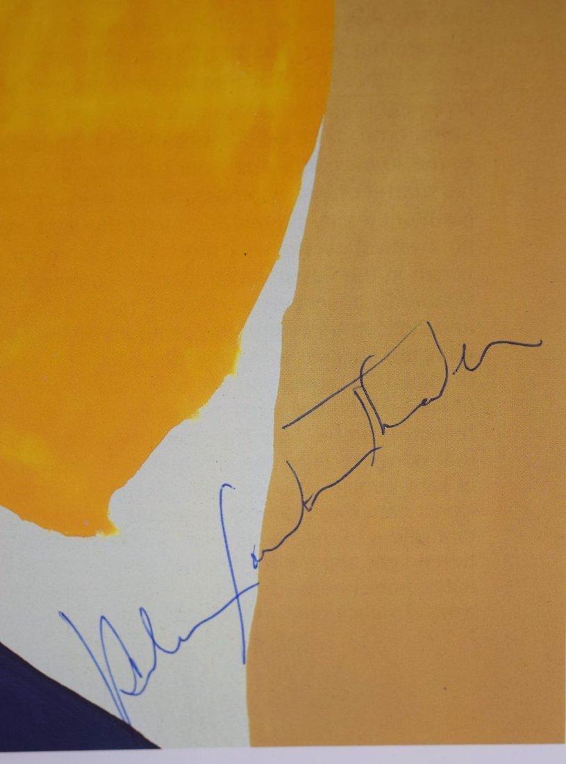 Helen Frankenthaler Signed - 2