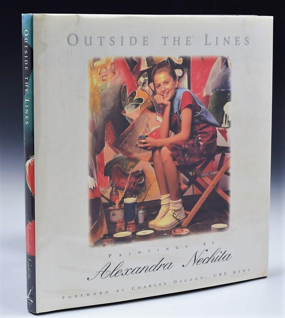 Alexandra Nechita Signed Book