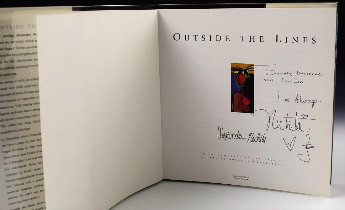 Alexandra Nechita Signed Book - 2