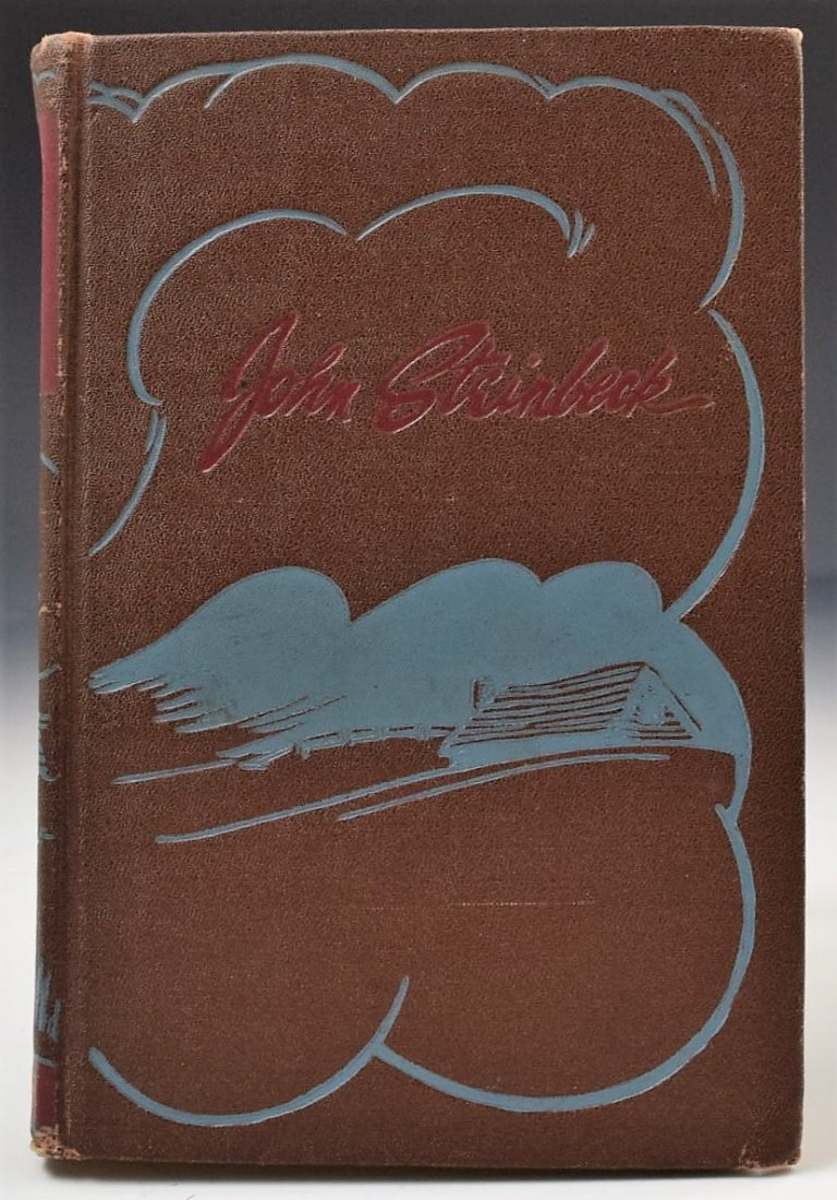 John Steinbeck, Of Mice And Men, Signed Book