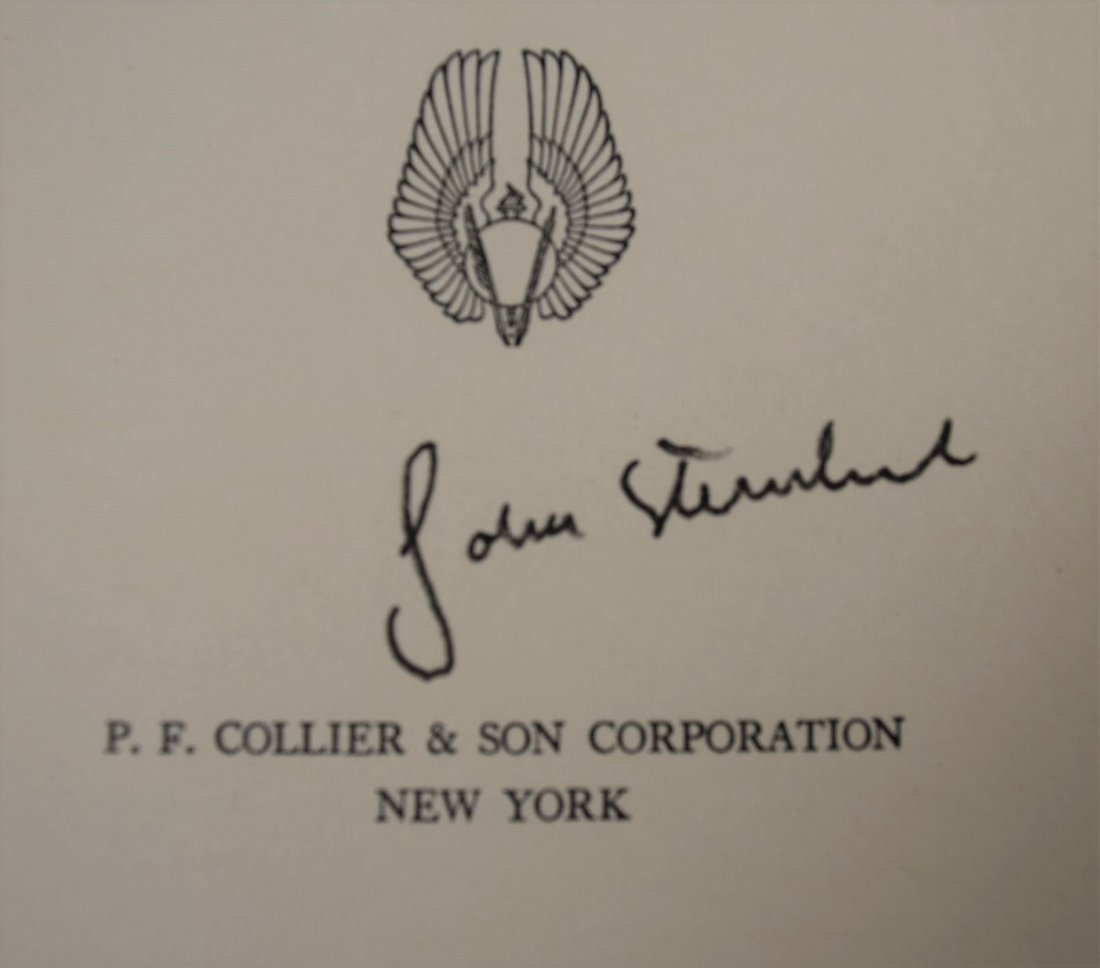 John Steinbeck, Of Mice And Men, Signed Book - 3