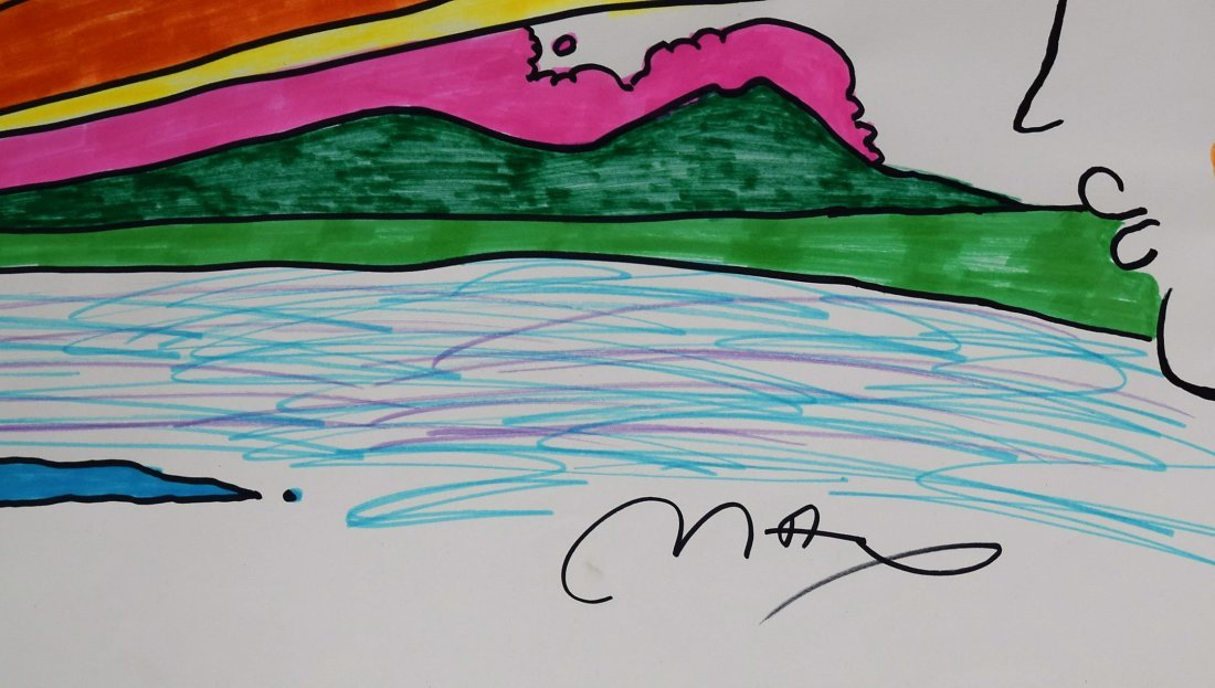 Peter Max Drawing - 2