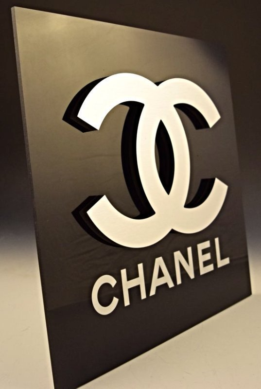 Chanel Logo Sign