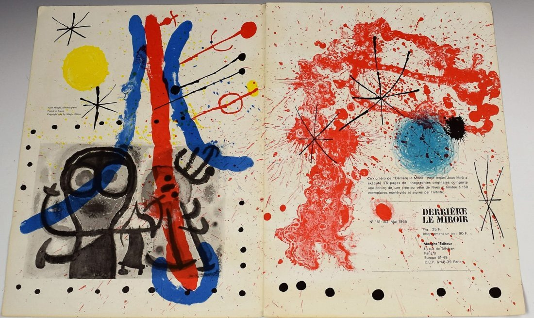 Joan Miro Signed Lithograph - 3