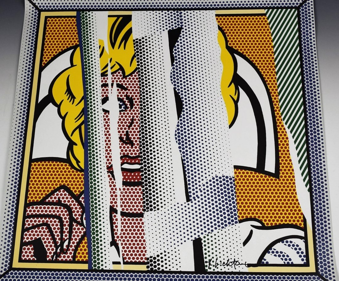 Roy Lichtenstein Signed Poster