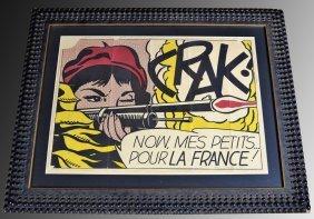 Roy Lichtenstein CRAK!