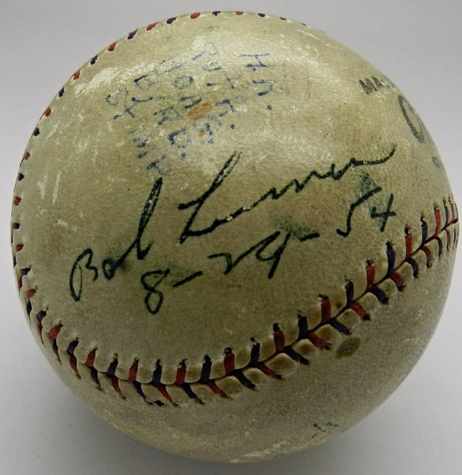 Babe Ruth Signed Home Run Baseball - 5