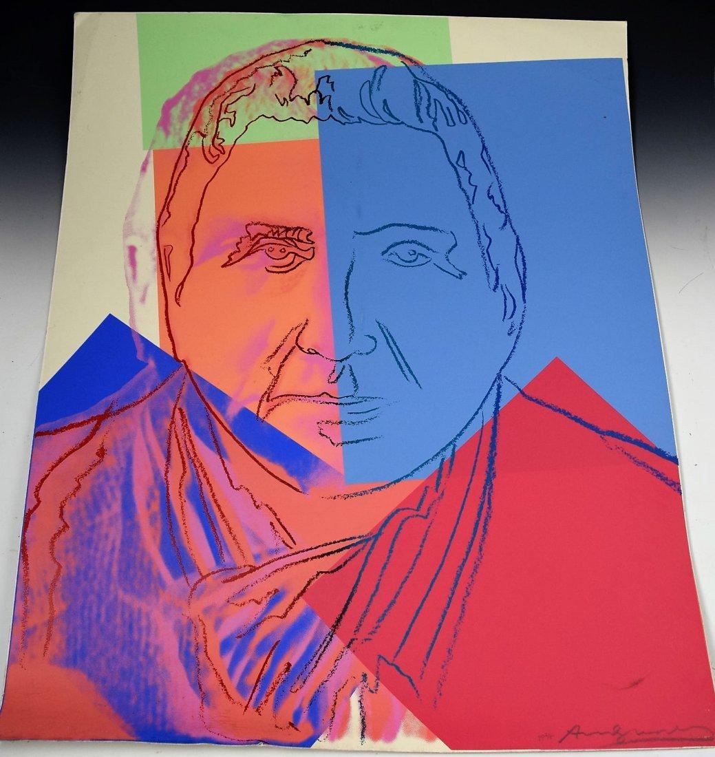 Andy Warhol Screenprint Gertrude Stein