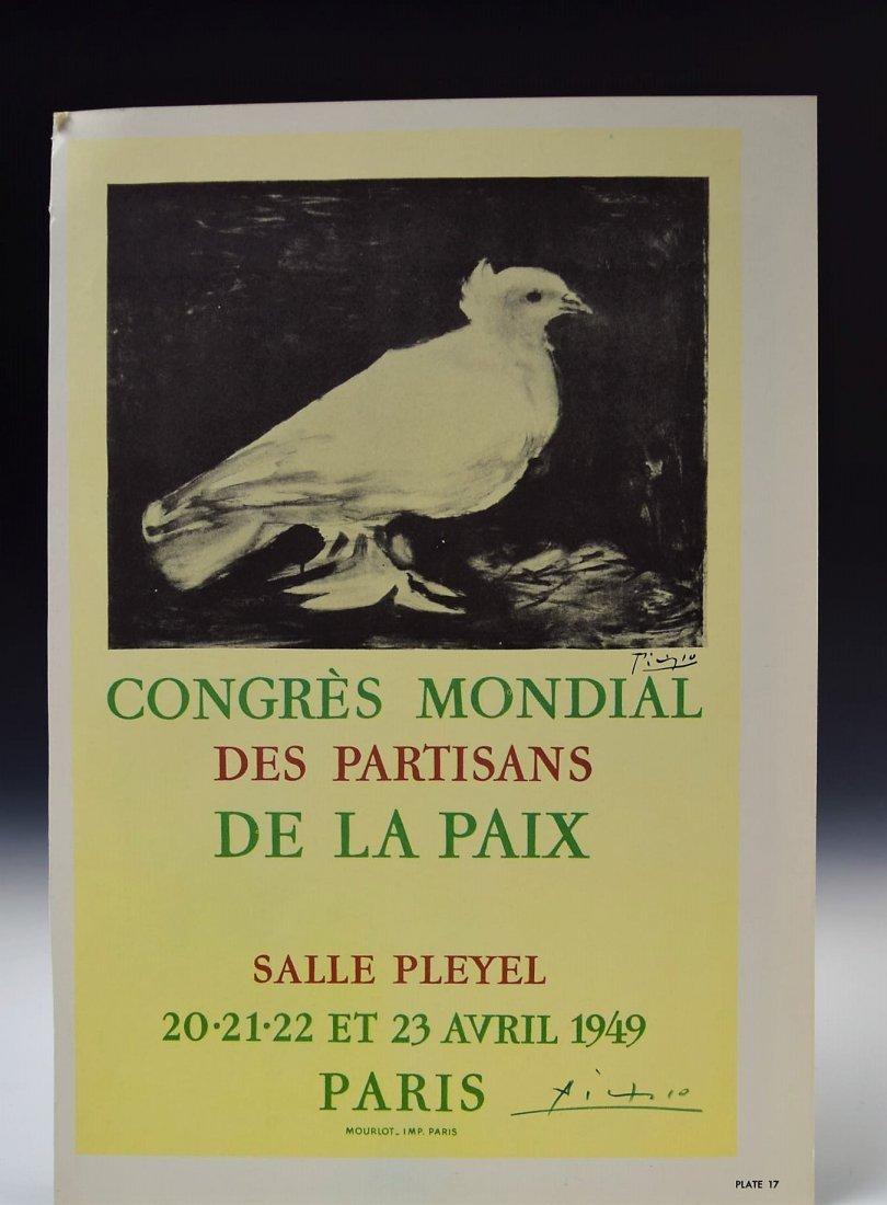 Pablo Picasso Signed Bookplate