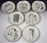 Salvador Dali Collectors Plates