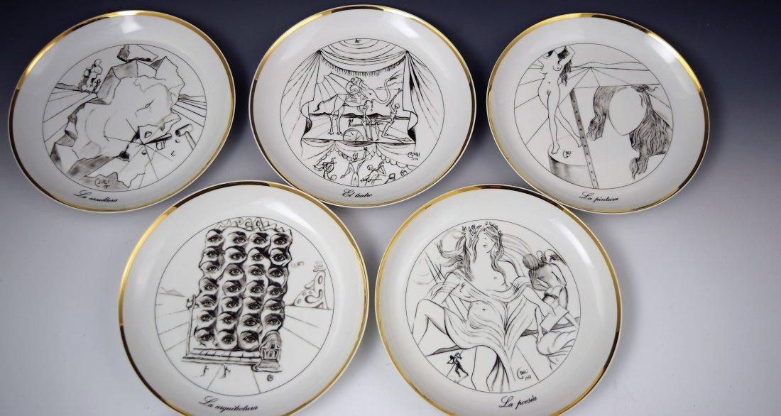Salvador Dali Collectors Plates - 2