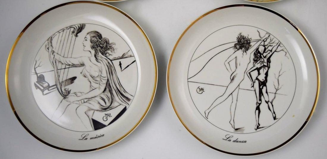 Salvador Dali Collectors Plates - 3