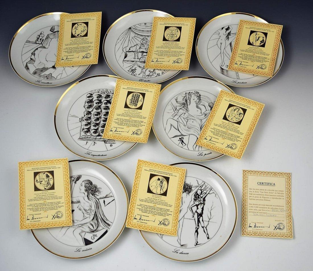 Salvador Dali Collectors Plates - 4