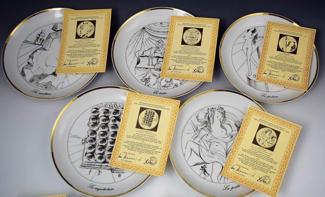 Salvador Dali Collectors Plates - 5