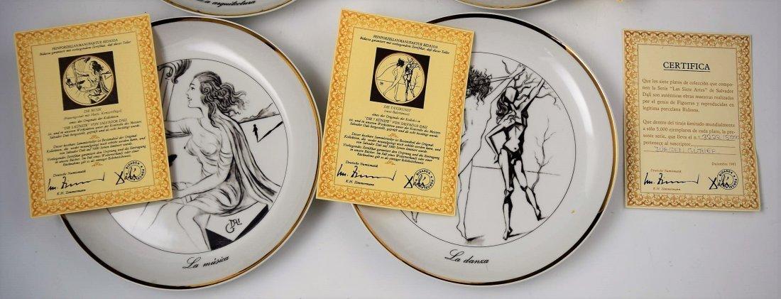 Salvador Dali Collectors Plates - 6