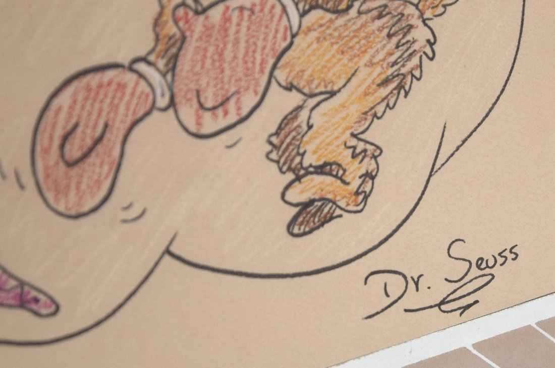 Dr. Seuss Drawing - 3