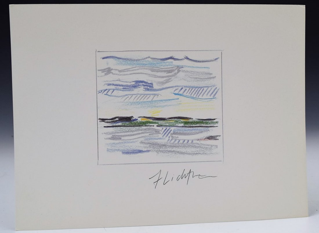 Roy Lichtenstein Signed Print