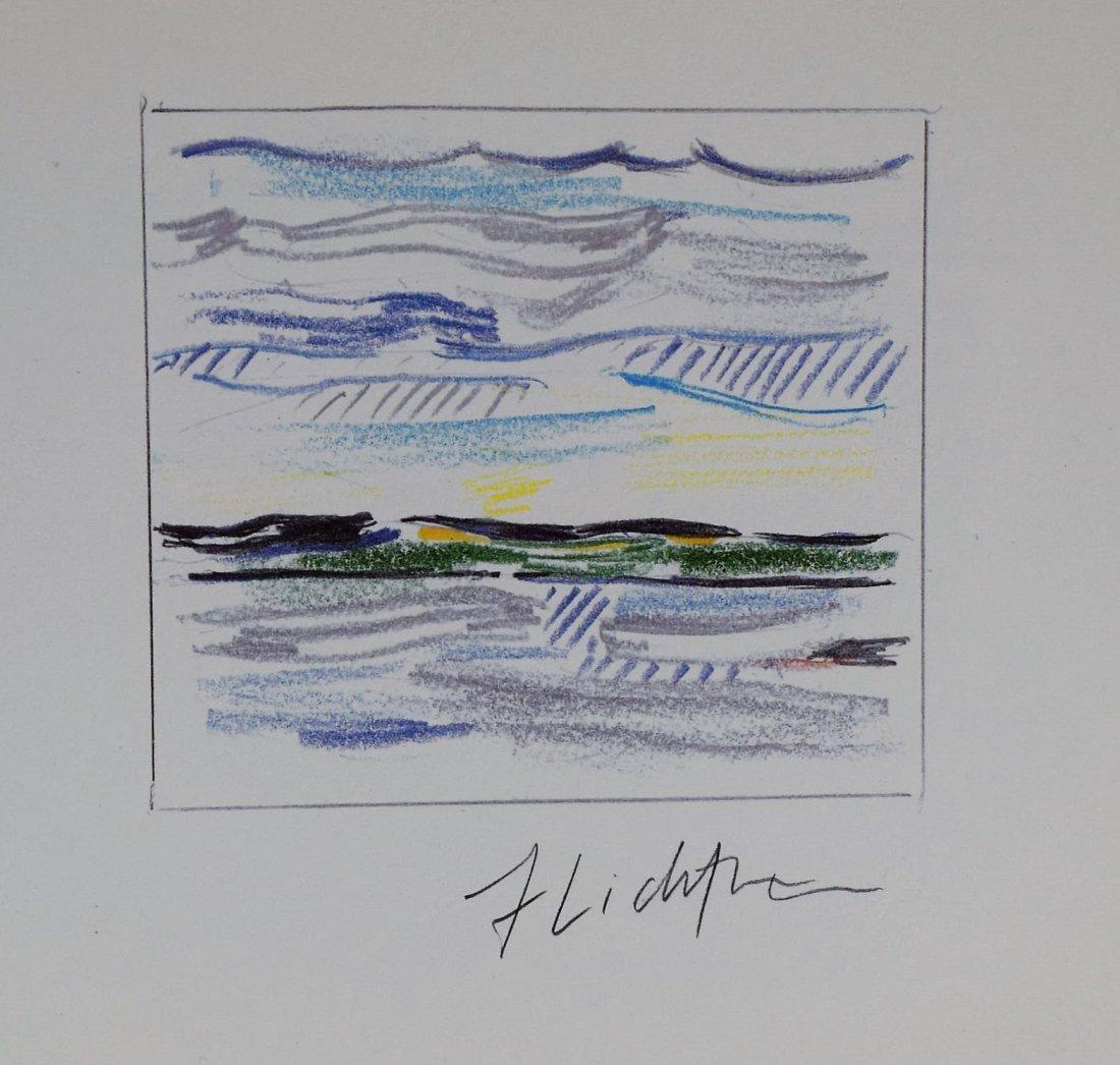 Roy Lichtenstein Signed Print - 2