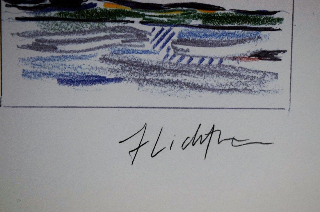 Roy Lichtenstein Signed Print - 3