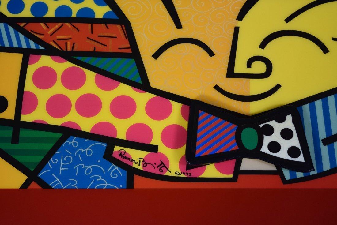 Romero Britto Sculpture - 3