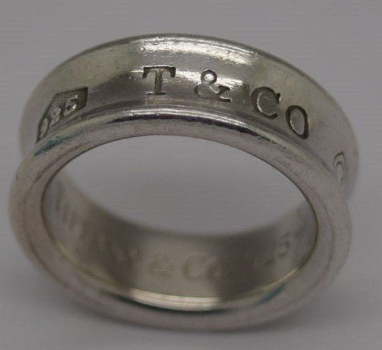Tiffany & Co Sterling Silver Ring - 3