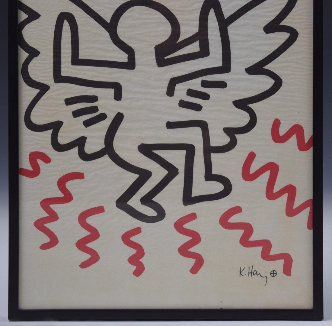 Keith Haring Bayer Lithograph - 2