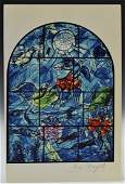 Marc Chagall Signed Lithograph