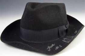 Michael Jackson Owned/Signed Fedora
