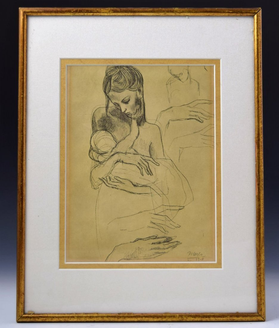 Pablo Picasso Signed Lithograph