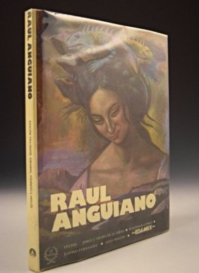 Raul Anguiano Signed Book